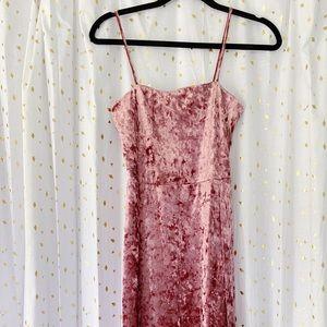 Pink Velvet Dress 💕